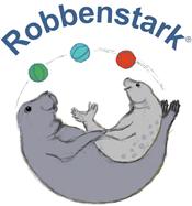 Robbenstark Robben Ballspiel